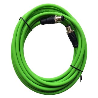 male sensor-connector sensor cable industrial laser measurement