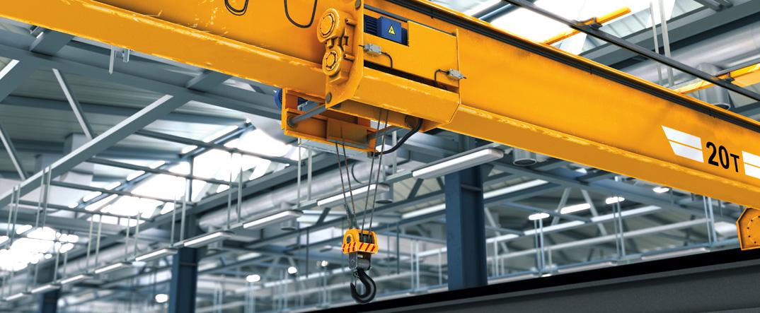 collision prevention overhead crane
